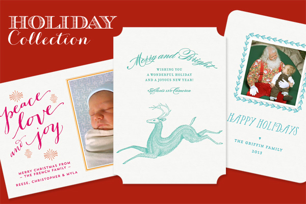 custom letterpress holiday cards - Letterpress Holiday Cards