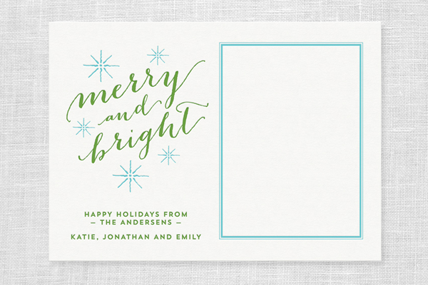 custom letterpress holiday cards the quill letterpress greeting