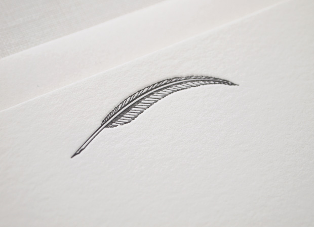 Quill Letterpress Stationery