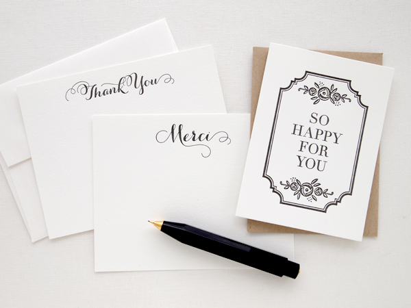 New Stationery and Cards