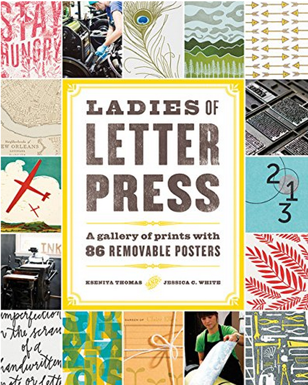 As Seen In: The Ladies of Letterpress Book