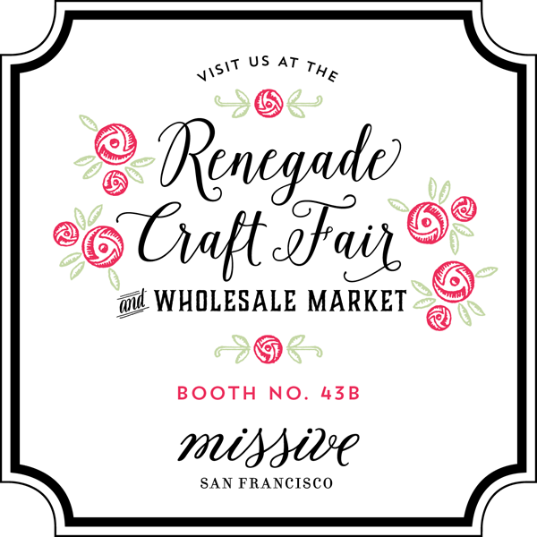 SF Renegade Craft Fair & Wholesale Market