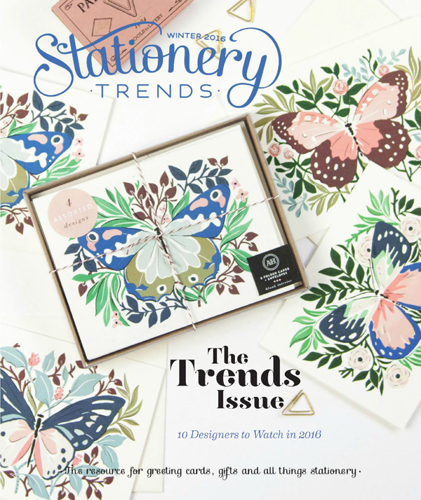 As Seen In: Winter 2016 Stationery Trends