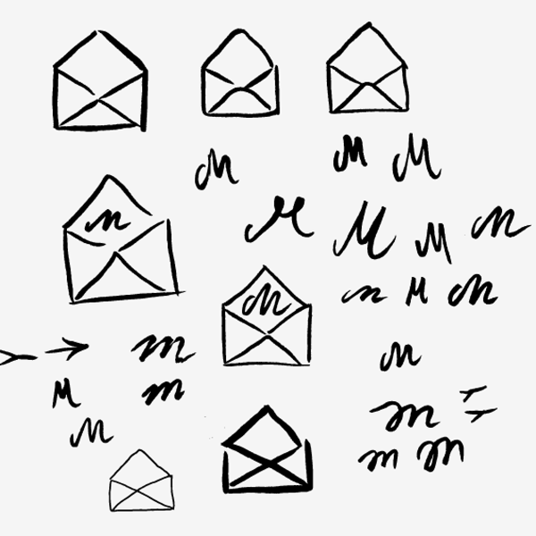 Missive brush pen icons