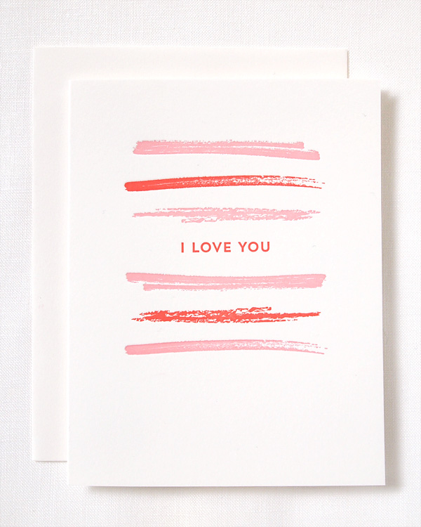 Shop Update: Letterpress Valentine's Day Cards