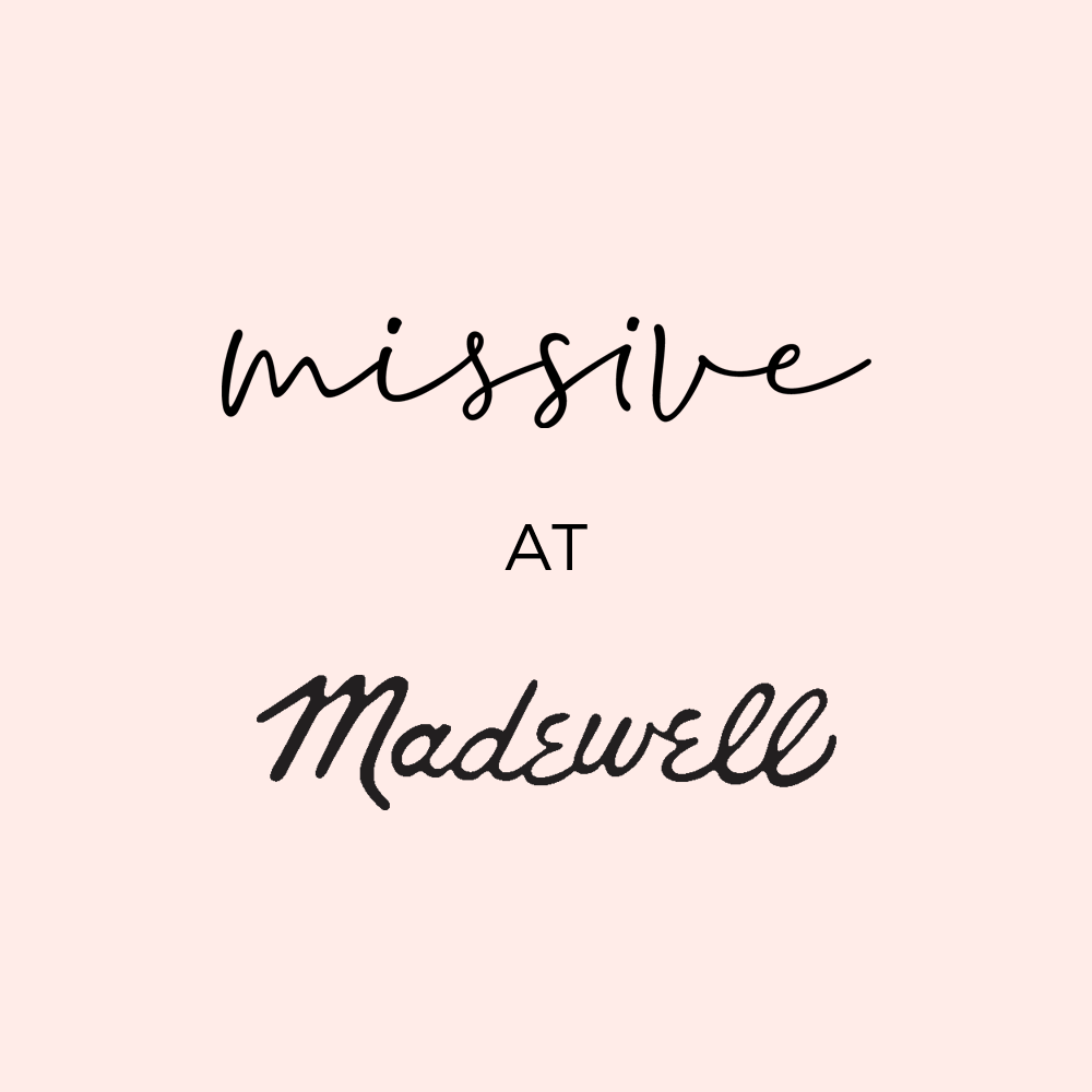 Missive Letterpress at Madewell Pop Up Event