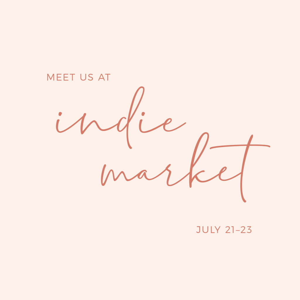 Meet us at Indie Market Bay Area